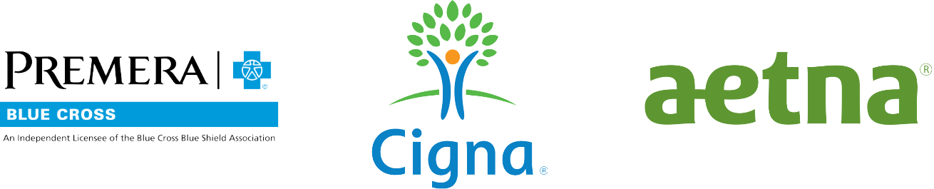 Premera Blue Cross, Cigna, Aetna